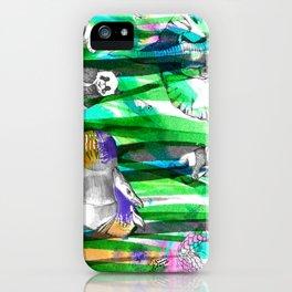 Jungle Green iPhone Case