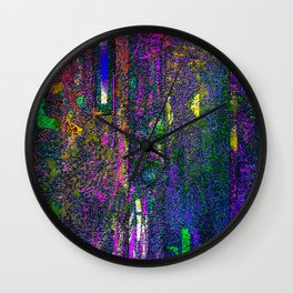 Windows of Dreams Wall Clock