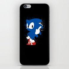 Inky Hedgehog iPhone & iPod Skin