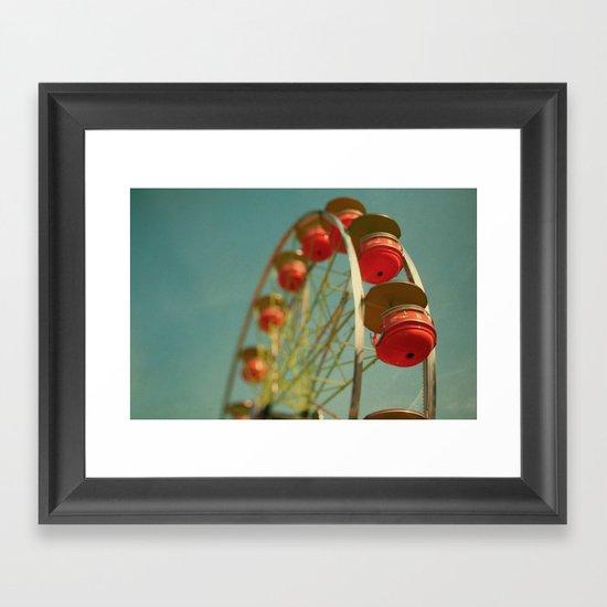 Grande Roue Framed Art Print