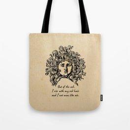 Sylvia Plath - Lady Lazarus Tote Bag