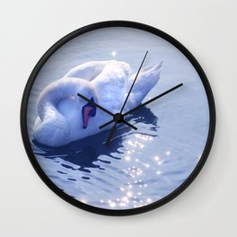 Swan Lake 7799 Wall Clock