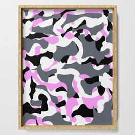 Cool Camouflage Serving Tray