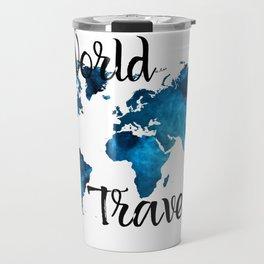 World Traveler I Travel Mug