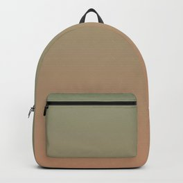 Artichoke and Antique Brass Ombre Backpack