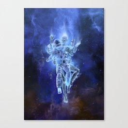 Deep Space Embrace Canvas Print