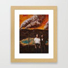 Restricted Framed Art Print