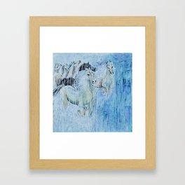 Spirit Horses Framed Art Print