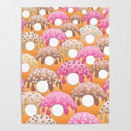 Donuts Wanderlust Poster