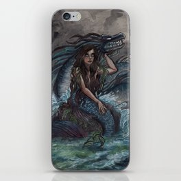 Mermaid and Sea Dragon iPhone Skin