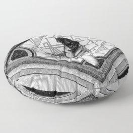 asc 925 - Le puit de l'escalier (The Pit and the Pendulum) Floor Pillow
