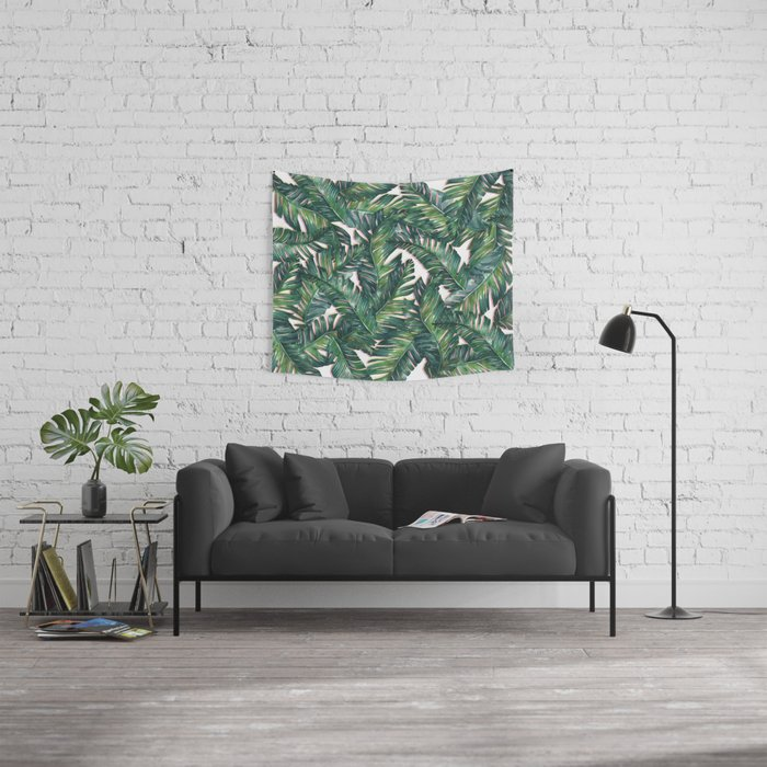 banana leaf 3 Wall Tapestry
