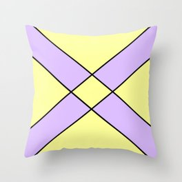 Saint andrew's cross 4 Throw Pillow