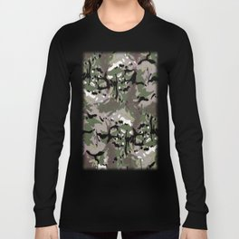 Camo Camo, and the art of disappearing. Long Sleeve T-shirt