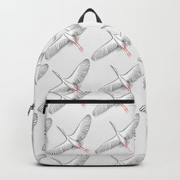 White stork Backpack