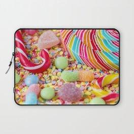 Rainbow Candy Laptop Sleeve