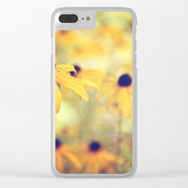 September afternoon Clear iPhone Case