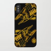 cyberpunk iPhone & iPod Cases featuring Cyberpunk fish by Oceloti