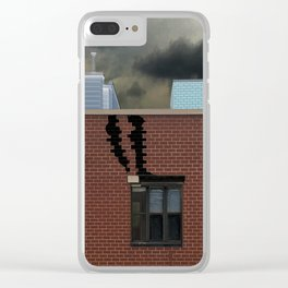 Slipping Through Daylight Clear iPhone Case