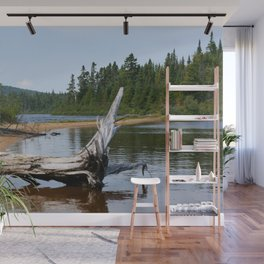 Peacefull Lake in Canada Wall Mural