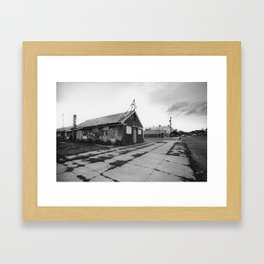 Kingsley St. and Second Ave. - Asbury Park  Framed Art Print