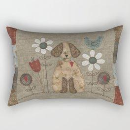 A Dog's Life Rectangular Pillow