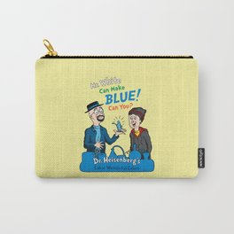 Mr. White Can Make Blue! Carry-All Pouch