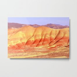 PAINTED HILLS - OREGON Metal Print