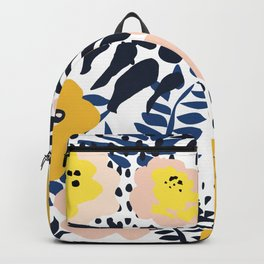 Annicks floral, modern pattern: matching to design for a happy life  Backpack
