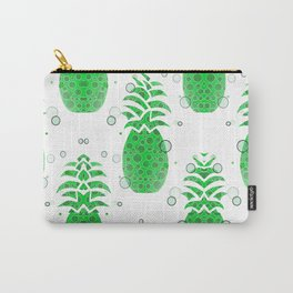 Green Pineapple Pattern Carry-All Pouch