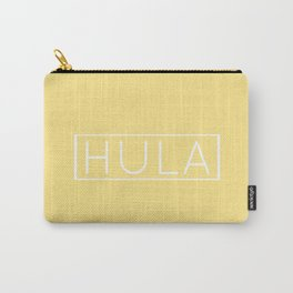 HULA (YELLOW) Carry-All Pouch
