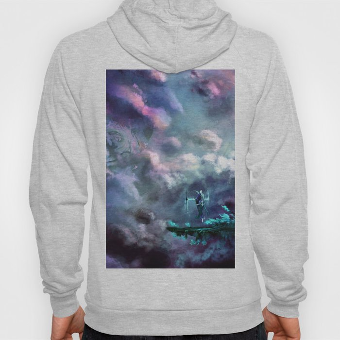 Water Temple in the Sky Hoody