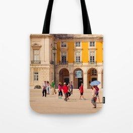 Lisbon Place architecture Tote Bag