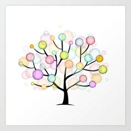 Tree #01 Art Print