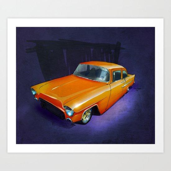 55 Gasser Art Print