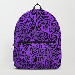 Mauve Sqwiggle Backpack
