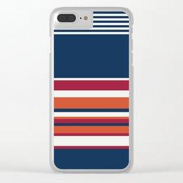 Ahoy Captain! Clear iPhone Case