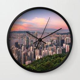 HONG KONG 15 Wall Clock