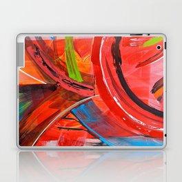 IBIZA - colorful abstract painting Laptop & iPad Skin