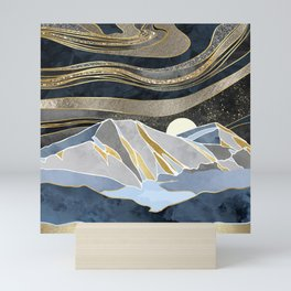 Metallic Sky Mini Art Print