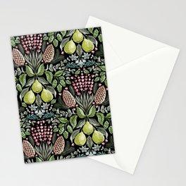Fragrant Florets - Dark Stationery Cards