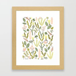 deep in the jungle Framed Art Print