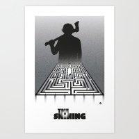 Shining-black version (SK Films) Art Print