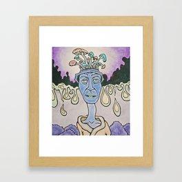 ron's trip Framed Art Print
