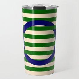 GEOMETRY BLUE&GREEN III Travel Mug