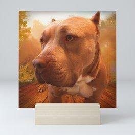 ARTHUR (shelter pup) Mini Art Print