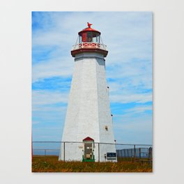 North Cape Lighthouse Canvas Print