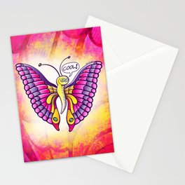 Coolorful Butterfly Stationery Cards