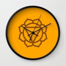 Solar Plexus Chakra Manipura Wall Clock