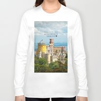 neverland Long Sleeve T-shirts featuring Neverland by Sandy Broenimann